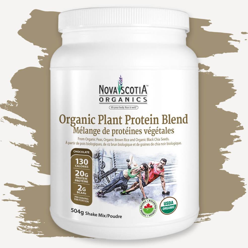 Organic Plant Protein Blend (Chocolate)